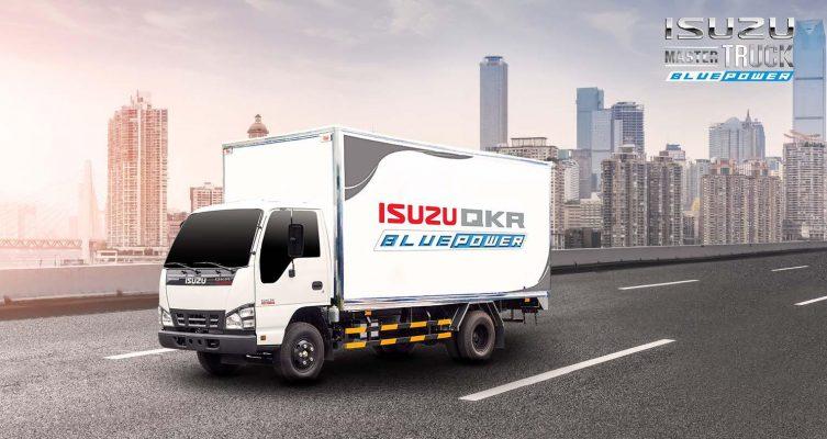 Banner xe tải Isuzu QKR series Isuzu24.com