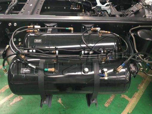 Bình hơi khí nén xe tải Isuzu 15t FVM 1500