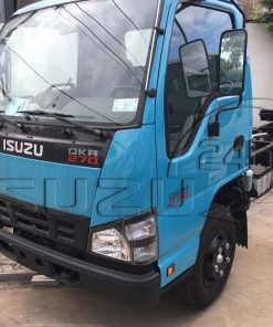 Cận cảnh cabin bên tài xe tải Isuzu Qkr 270 1t9 2t4