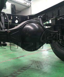 Cầu sau chủ động xe tải Isuzu 5 tấn NQR 550 thùng dài 6.2m