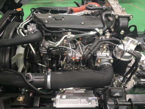 Hệ thống phun dầu điện tử xe tải Isuzu 5 tấn NQR 550 thùng dài 6.2m