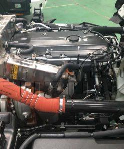 Hệ thống Turbo tăng áp xe tải Isuzu 5 tấn NQR 550 thùng dài 6.2m