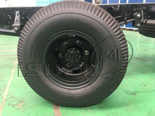lốp sau 7.50-16 xe tải Isuzu 5 tấn NQR 550 thùng dài 6.2m