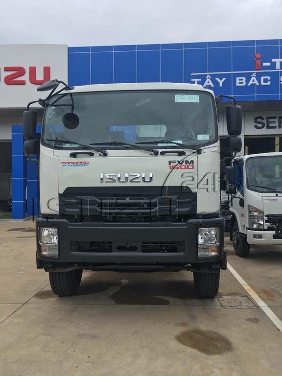 Mặt trước cabin xe tải Isuzu 15 tấn FVM 1500