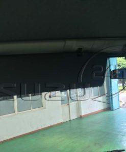 Tấm che nắng xe tải Isuzu 5 tấn NQR 550 thùng dài 6.2m