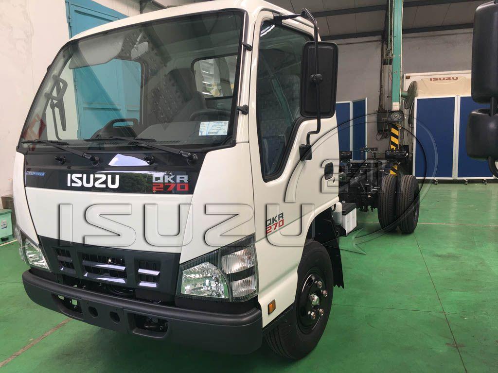 Tổng quan xe tải Isuzu QKR 270 1t9 2t4
