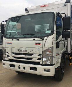 Xe tải Isuzu 5 tấn NQR 550 thùng kín inox dài 6.2m