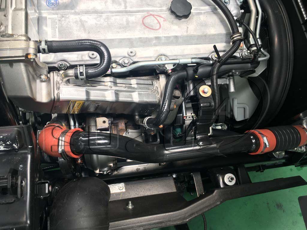 Hệ thống Turbo tăng áp Xe tải Isuzu FRR 650 6t thùng dài 6m7