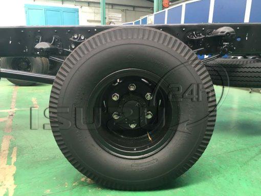 Lốp sau 8.25-16 Xe tải Isuzu FRR 650 6t thùng dài 6m7