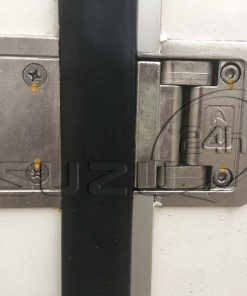 Bản lề âm thùng trên cửa hông xe tải Isuzu 1t9 thùng đông lạnh Quyền Auto
