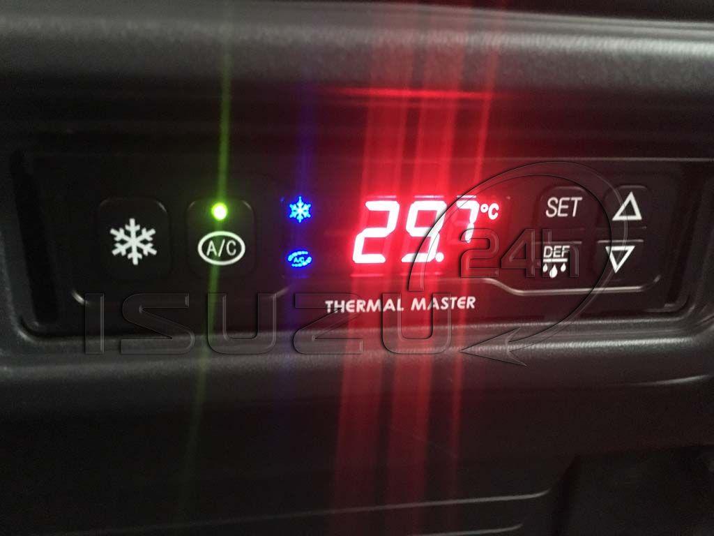 Bảng điều khiển nhiệt độ thùng xe tải Isuzu 1t9 thùng đông lạnh Quyền Auto