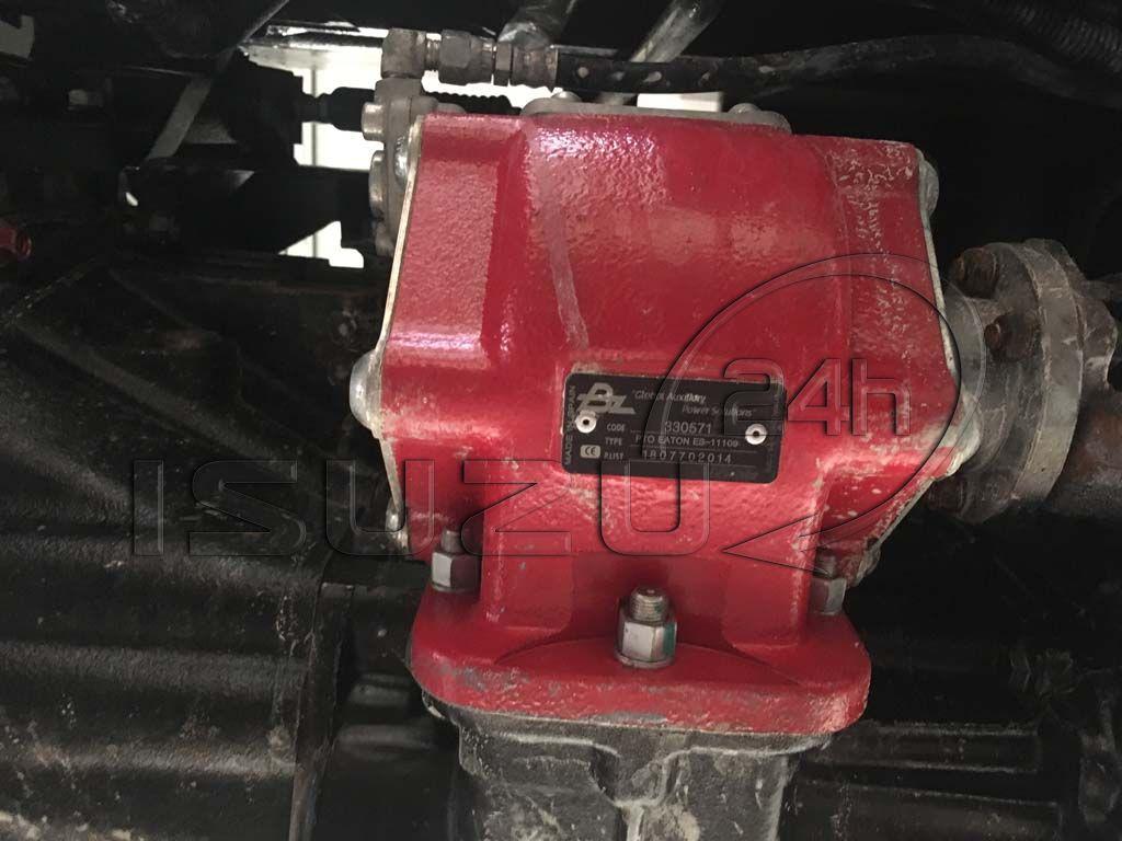 Bộ PTO trích thủy lực (cóc ben) zin Isuzu theo xe ben tự đổ Isuzu FVZ 15 tấn 10 khối