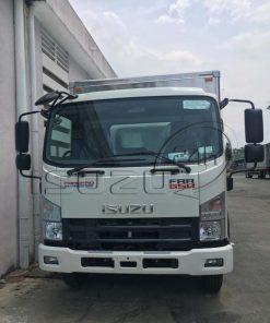 Cabin Xe tải Isuzu FRR 650 6t thùng kín inox dài 6m7