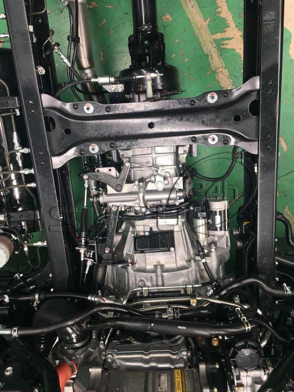 Hộp số nhôm Xe tải Isuzu FRR 650 6t thùng dài 6m7