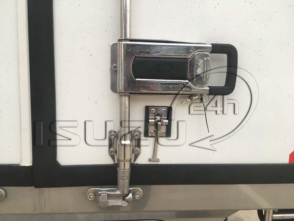 Khóa hộp đông lạnh xe tải Isuzu 1t9 thùng đông lạnh Quyền Auto