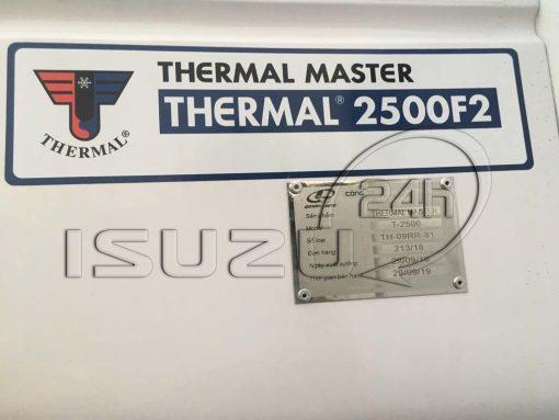 nhãn hiệu máy cấp đông Thermal Master 2500 F2 xe tải Isuzu 1t9 thùng đông lạnh Quyền Auto