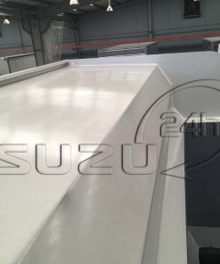 Nóc thùng có chốt móc bạt trên xe ben tự đổ Isuzu FVZ 15 tấn 10 khối