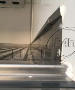 Sàn cuốn mép chống tràn xe tải Isuzu 1t9 thùng đông lạnh Quyền Auto