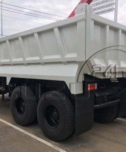 Thùng xe ben tự đổ Isuzu FVZ 15 tấn 10 khối