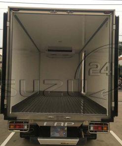 Tổng quan thùng xe tải Isuzu 1t9 thùng đông lạnh Quyền Auto