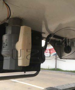 Van thoát nước xe tải Isuzu 1t9 thùng đông lạnh Quyền Auto