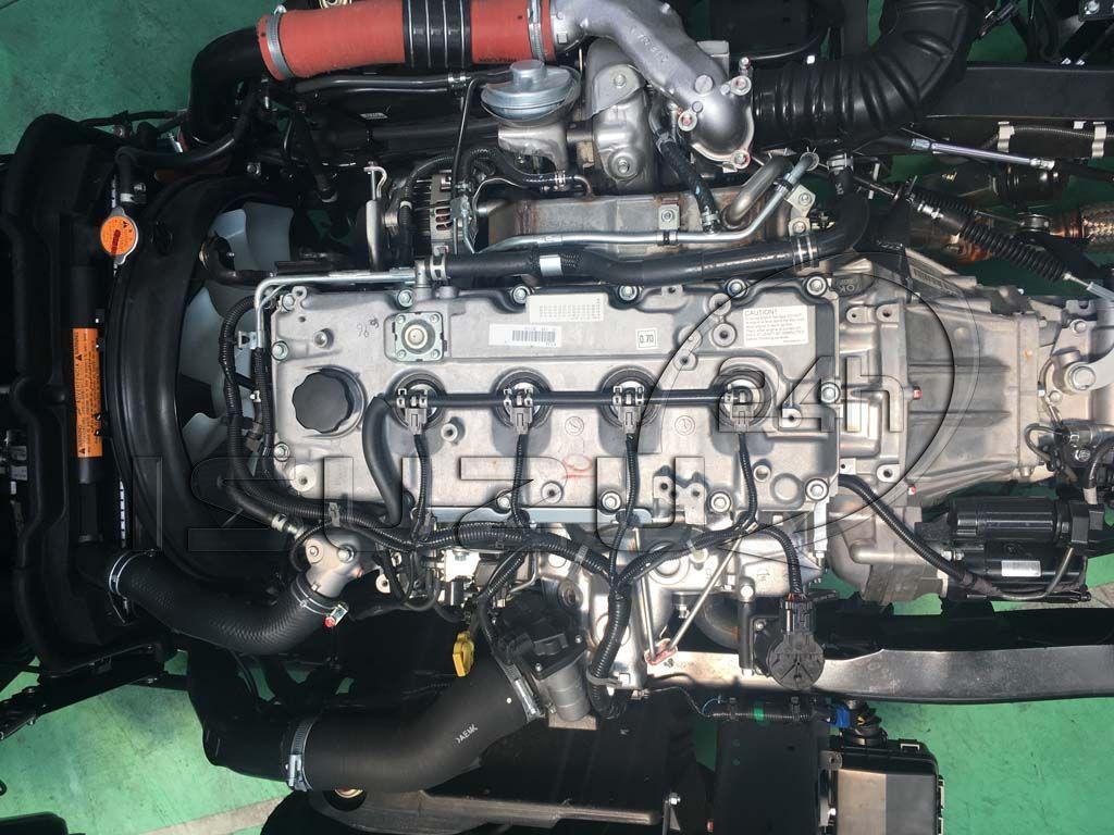 Động cơ 4JJ1 4JJ1E4NC xe tải Isuzu 1T9 đầu vuông nhập Nhật NMR 310
