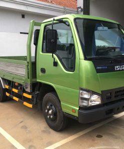 Góc nhìn bên phụ xe tải Isuzu 2t4 QKR 230 thùng 3m6