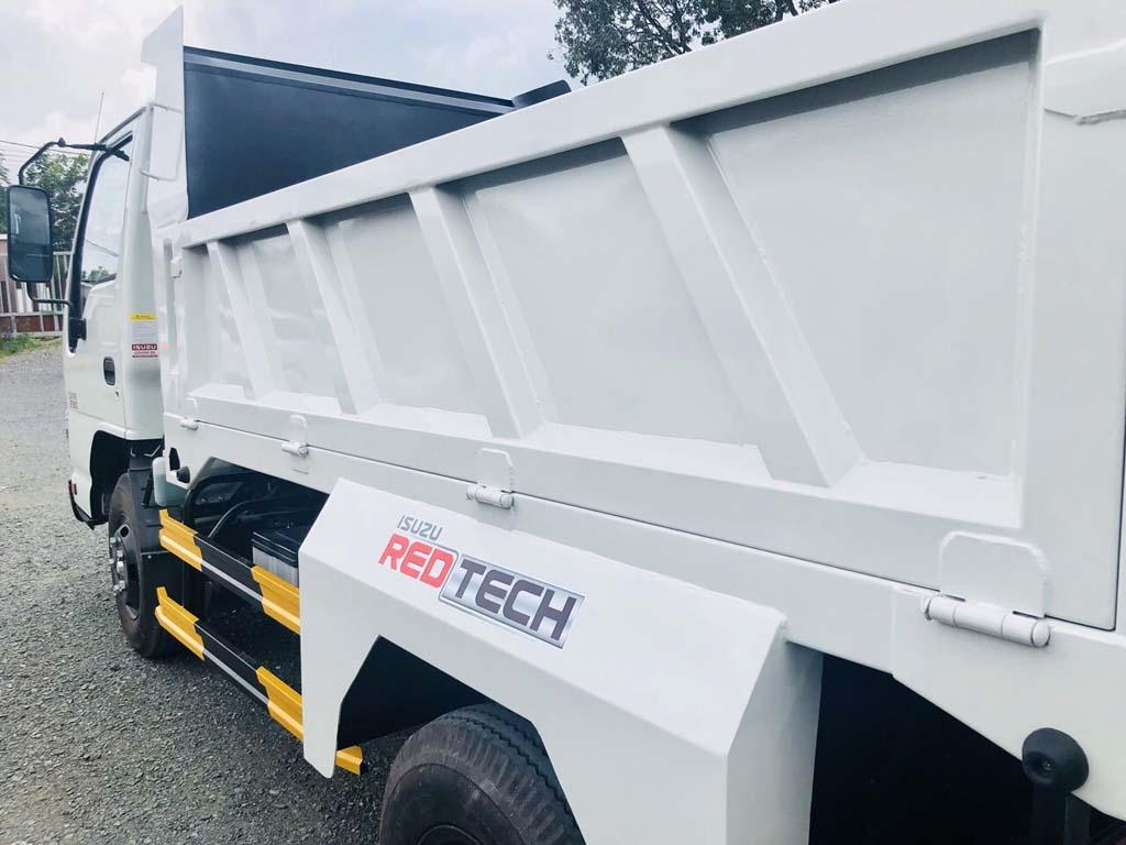Thùng xe tải ben tự đổ Isuzu 2 khối tải trọng 1t9 2t4 QKR 230