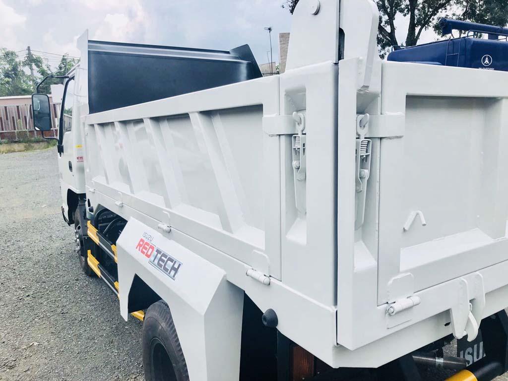 Bát thùng và bản lề thùng xe tải ben tự đổ Isuzu 2 khối tải trọng 1t9 2t4 QKR 230