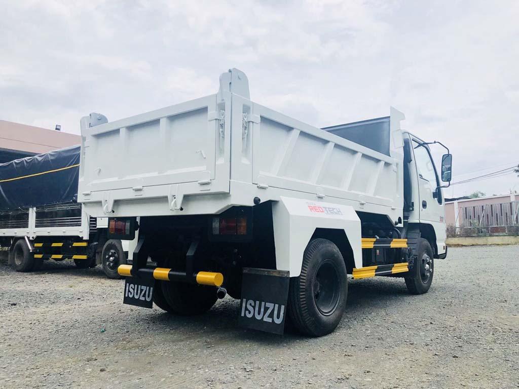 Thùng ben xe tải ben tự đổ Isuzu 2 khối tải trọng 1t9 2t4 QKR 230