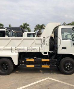 Cạnh hông bên phụ xe ben Isuzu QKR 230 tải trọng 2T thùng 2 khối