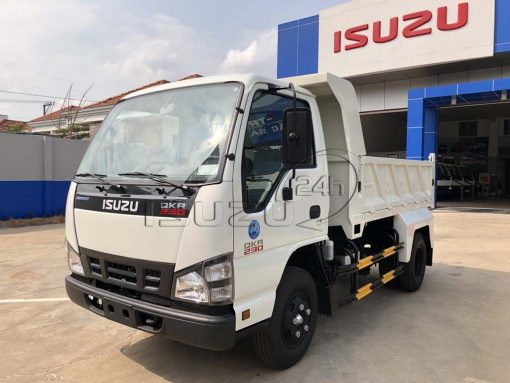Xe ben Isuzu QKR 230 tải trọng 2T thùng 2 khối