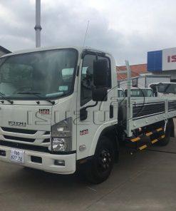 Xe tải Isuzu NPR 400 3T5 thùng lửng 5 bửng mở