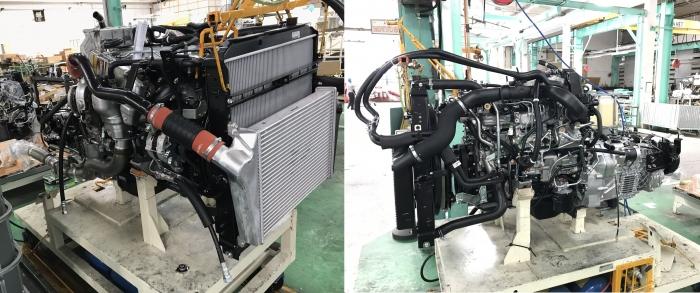 Dây chuyền lắp ráp động cơ Isuzu F-series
