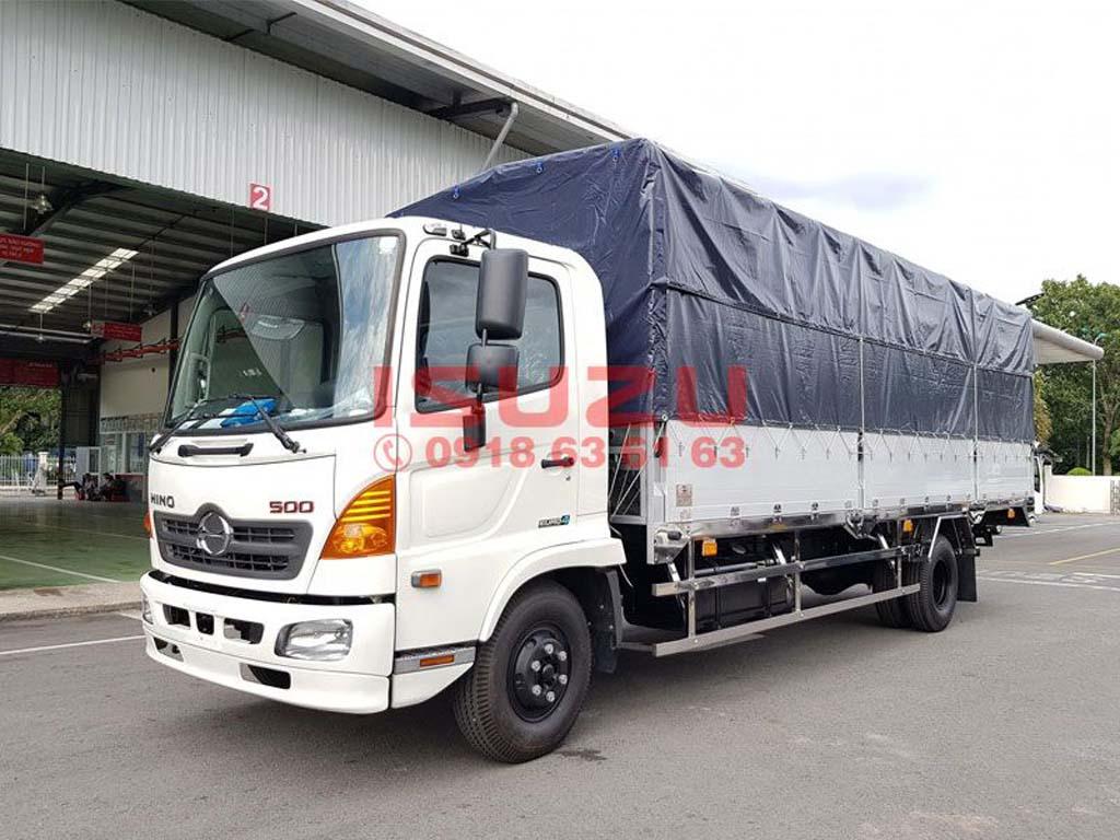 Xe tải Hino 6T5 Thùng Mui Bạt FC9JLTC