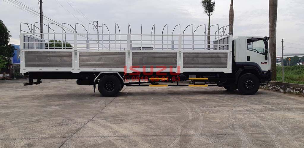 Xe tải Isuzu 8T FVR 900 FVR34UE4 thùng mui bạt siêu dài