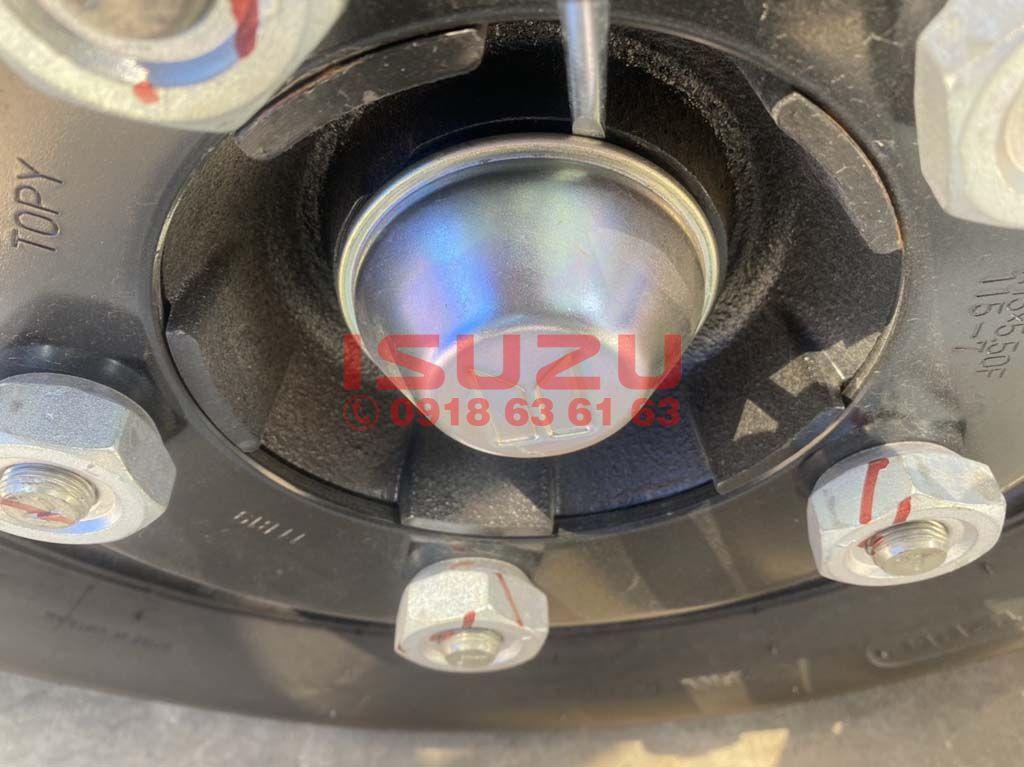 Cách mở nắp (núm) chụp mâm xe tải Isuzu QKR 230 270 1T9