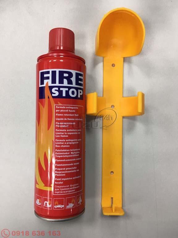 Bình chữa cháy mini 500ml dành cho xe ô tô và xe tải