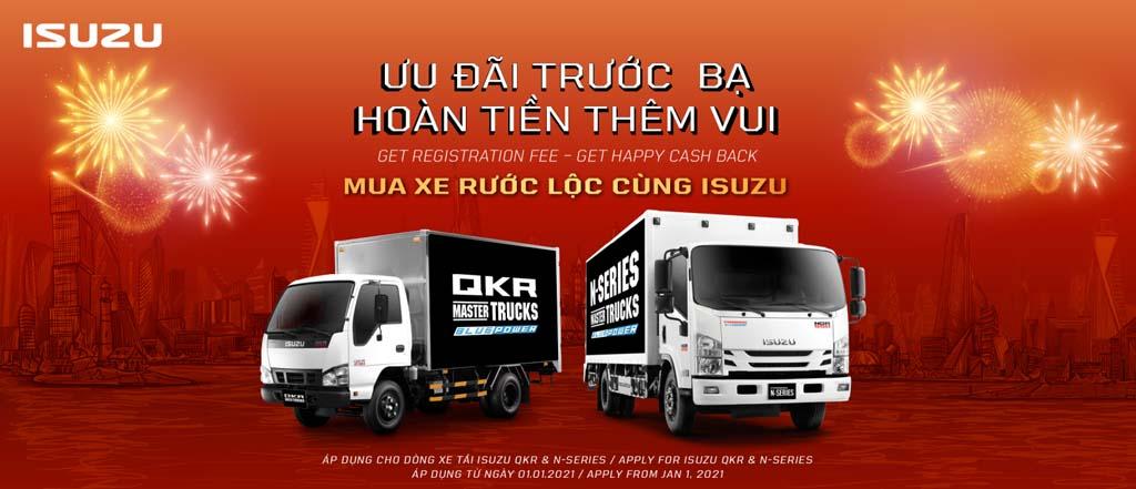 Isuzu24 Khuyến mãi xe tải ISUZU VN 2021