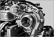 Turbo tăng áp làm mát khí nạp xe tải Isuzu