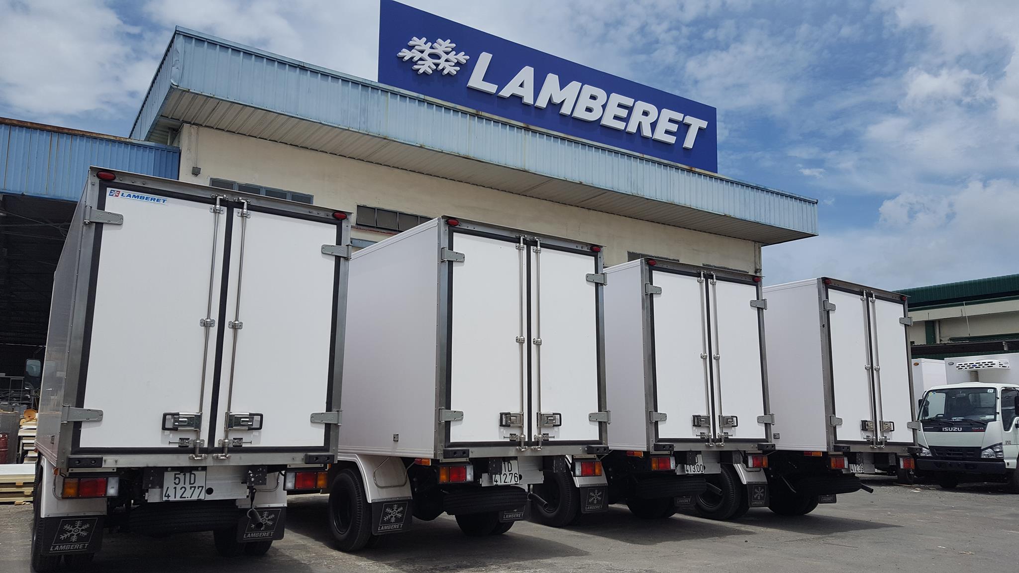 Xưởng thùng đông lanh Lamberet Việt Nam