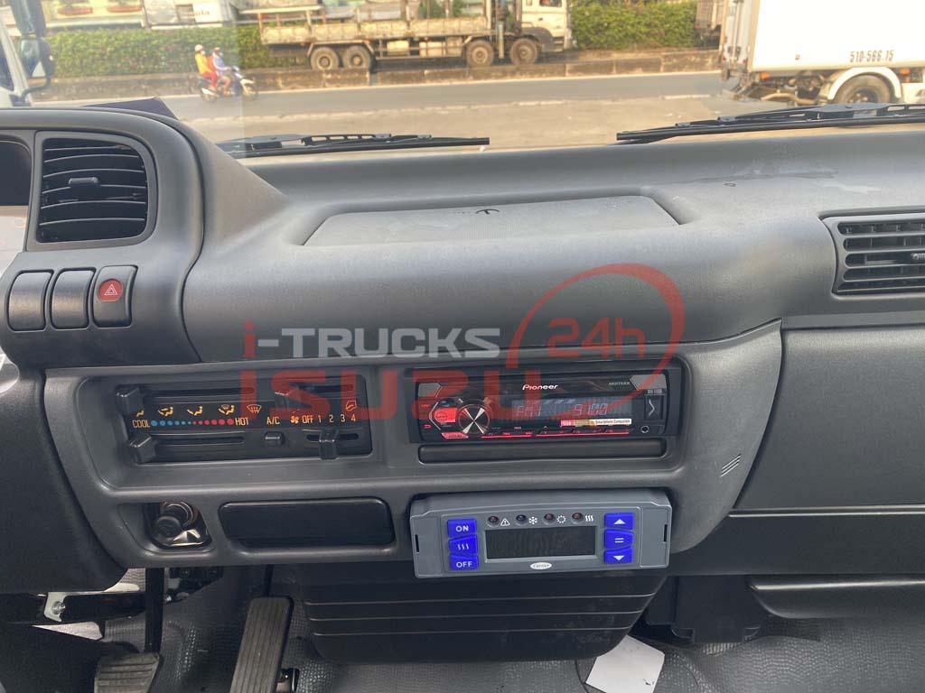 Bảng điều khiển trung tâm có thêm bảng điều khiển máy đông lạnh thùng Carrier Citimax 700
