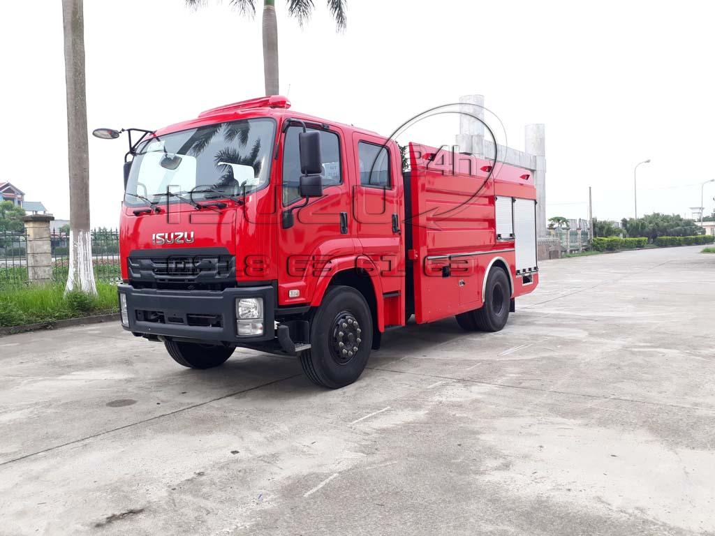 Xe cứu hoả - chữa cháy Isuzu 8 tấn thể tích 6 khối nước